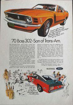 Ford V8 Parts Mustang 60/'s 70/'sAmerican Classic Car Print Sport Grey T-Shirt