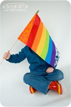 RainbowFlag-by I'mFeelin'Crafty
