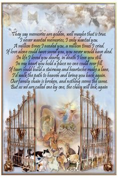 rainbow bridge poem for dogs That go to Heaven Family Dogs That have gone over the Bridge♌ Dog Quotes, Animal Quotes, Hurt Quotes, I Love Dogs, Puppy Love, Rainbow Bridge Poem, Pet Poems, Pet Loss Grief, Tears In Heaven