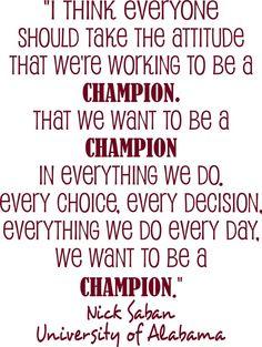 Champion....