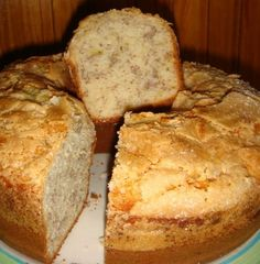 Torta de bananas (opcional: con nuez, chocolate) - Banana bread (optional: with walnut, chocolate)