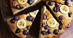 This gluten-free cake is kept light and moist with tapioca flour and almond meal, while mashed banana adds sweetness.