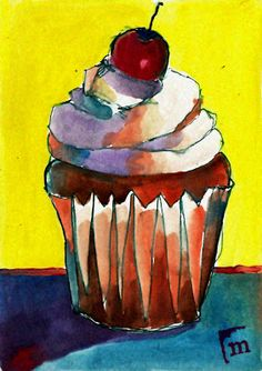 'Myra's Cupcake' -=- Artistry by Myra Anderson  <3