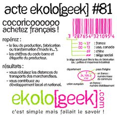 Ekolo[geek] – C'est simple mais fallait le savoir ! » Blog Archive » Acte ekolo[geek] #81