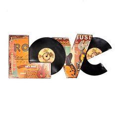 Crafts Using LP Records   ... Vinyl Records, Records Stores, Records Crafts, Rooms Ideas, Records