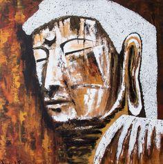 Acryl painting 100 x 100