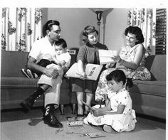 Enumerating a Forestville, MD, family during the 1960 Census. Learn more at: www.census.gov/history