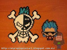 One Piece hama beads by Nuria Henares Sanmartín