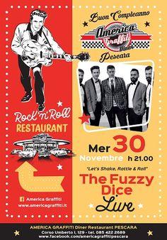 The Fuzzy Dice in concerto il 30 novembre a Pescara