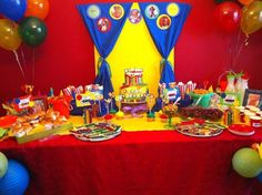 Crayola Crayons Birthday Party Ideas | Photo 2 of 46 | Catch My Party