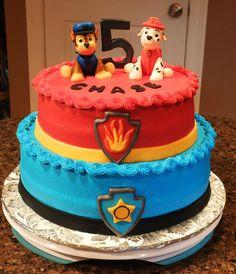 Paw Patrol Cake https://www.facebook.com/BeccasEdibleCreations/photos/pb.433146093438610.-2207520000.1426385642./698598930226657/?type=3&theater