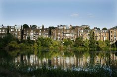 Hampstead Heath - the most expensive suburb in London. Hampstead Ponds, Hampstead Heath, Next London, London Life, London Village, Places Around The World, Around The Worlds, Hampstead Village, Expensive Homes