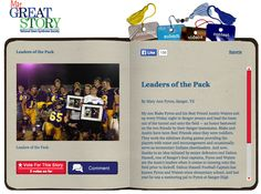 Check out the October 2013 My Great Story of the Month Contest Winner, Leaders of the Pack by Mary Ann Pyron of Sanger, TX! Share your story at http://ndss.org/stories