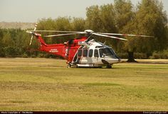 Agusta AW-139 Helicopter Los Angeles Fire Department Emergency Apparatus Fire Truck Photo