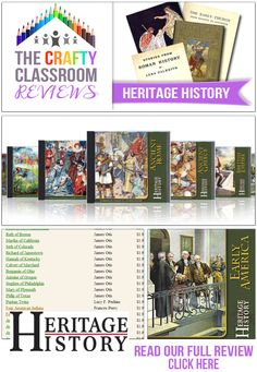 The Crafty Classroom Reviews: Heritage History