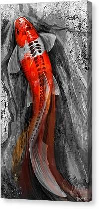 Shop for koi art from the world's greatest living artists. All koi artwork ships within 48 hours and includes a money-back guarantee. Choose your favorite koi designs and purchase them as wall art, home decor, phone cases, tote bags, and more! Carpe Koi Tattoo, Koi Fish Tattoo, Koi Fish Drawing, Japanese Drawing, Japanese Art, Koi Art, Fish Art, Koi Tattoo Design, Koi Painting