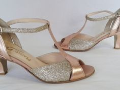 Justine or ros Cline Bussy Dance and Bridal Shoes Bride Flats, Wedding Shoes Bride, Bridal Shoes, Wedding Gold, Celine, Gold Shoes, New Shoes, Exclusive Shoes, Fashion Shoes