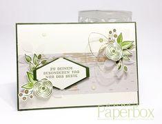 Geburtstagskarte mit Produkten von Stampin' Up!- Alle meine Geburtstagsgrüsse