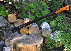 Fiskars X27 Splitting Axe - sleek and modern axe for tool nerds - $54.99