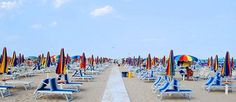 Rimini - wonderful beach, but to many people and those sunbeds are expensive.