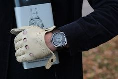 REC Watches is raising funds for THE AUTOMATIC WATCH by REC - Recycling Horsepower! on Kickstarter! Watches made from recycled Mustangs, powered by an automatic mechanical engine, and a tribute to an American icon. Skeleton Watches, Watch 2, Mens Gloves, Automatic Watch, Wrap Style, Wood Watch, Recycling, Fashion Accessories, Black Leather