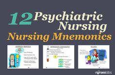 Nursing involves caring for the whole person, and taking care of both physical and psychosocial needs. Since it is common for those who are physically ill to feel psychologically vulnerable, here are some helpful visual mnemonics and tips to make it easier and more easy to understand. READ MORE: http://nurseslabs.com/psychosocial-mnemonics-tips/ #nursing #NCLEX #Nurses