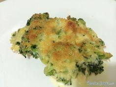 brócoli gratinado al horno con esta rica y fácil receta.