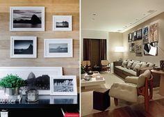 Fotos na Decoração, com ideias para decorar a casa com fotos de viagem ou das cidades preferidas! Uma foto na parede é sempre uma lembrança marcante e uma forma linda de personalizar a decoração.