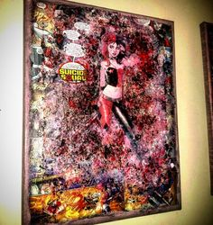 Aaaand another Harley Quinn !! #harleyquinn #joker #thejoker #dc #comics #comicartist #cool #awesomeness #comicart #comiccon #etsy #etsyshop #montreal #collectable #canvasart #art #artist #artlife #instacollage #instaart #sexy #suicidesquad #acrylic #followforfollow #startups #kickstagram #gallery #starkematter