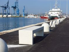 Products benches and urban design on pinterest for Arredo urbano ancona