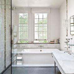 Implantation de la salle de bains : la salle de bains de 4m2