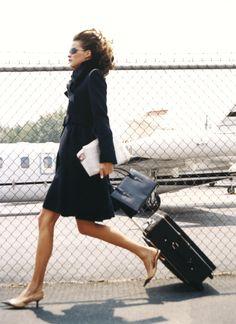 look de viaje aeropuerto airport travel look moda fashion miraquechulo