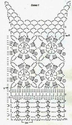 Fabulous Crochet a Little Black Crochet Dress Ideas. Georgeous Crochet a Little Black Crochet Dress Ideas. Débardeurs Au Crochet, Pull Crochet, Crochet Motifs, Crochet Shirt, Crochet Diagram, Crochet Woman, Crochet Cardigan, Crochet Crafts, Crochet Stitches