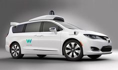Waymo is to add Chrysler Pacifica mini vans to its autonomous car fleet, making it 100 times larger than it is today Mini Vans, In China, Google Car, Google News, Monospace, E Mobility, Detroit Auto Show, Chrysler Pacifica, Honda Odyssey