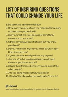 List of Inspiring Questions That Could Change Your Life. I use some of these inspiring questions with my clients in Life Shift Coaching! The Words, Life Questions, This Or That Questions, Coaching Questions, Deep Questions To Ask, Journal Questions, Ask Questions Quotes, Interesting Questions To Ask, Amazing Questions