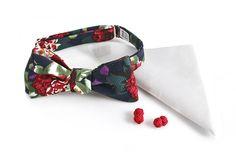KOMPLET Mucha wiązana NUEVO poszetka spinki Tie, Accessories, Fashion, Moda, Fashion Styles, Cravat Tie, Ties, Fashion Illustrations, Jewelry Accessories