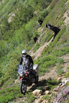 Who says you cant off-road a R1200GS?