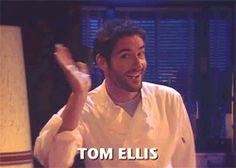Tom Ellis - as Miranda's love interest on her self-titled show Sarah Hadland, Miranda Hart, Tom Ellis Lucifer, Dan Stevens, Taylor Kinney, What Have You Done, Comedians, Role Models, Love Him