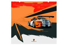 ⌕ The Porsche Calendar The official 2011 Porsche calendar has been awarded gold honours in the promotion category at this year...