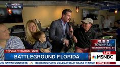 Florida Men Tell MSNBC They're Voting for Hillary Clinton in Primary and...