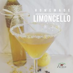 The beauty with making limoncello is that there is no exact brewing time. I like to let mine seep for at least 4-6 weeks, but it only gets better with age.