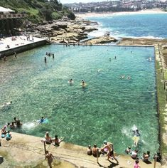 Ocean pools aren& exactly rare in Sydney (humblebrag), but if you only get to visit one, make it Wylie& Baths. As you float around with epic views of the Pacific Ocean, it& be hard to believe you& only 15 minutes from the CBD. Natural Swimming Pools, World View, Naturally Beautiful, Beach Fun, Pacific Ocean, Home And Away, Walking Tour, Dream Vacations, Things To Do