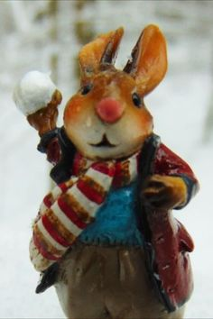 See the list of retired pieces for 2020 and purchase while they are still available! Snow Decorations, White Ornaments, Thing 1, Bunny Rabbits, Unusual Art, Classic Cartoons, Sugar Skulls, Collectible Figurines, Cute Crafts