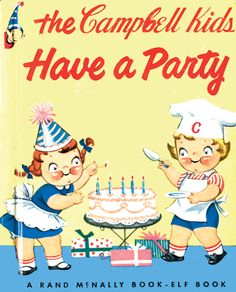 campbells kids Having a party