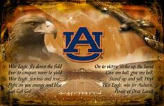 War Eagle, fly down the field...