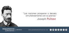 Joseph Pulitzer. Sobre las naciones y su prosperidad o decadencia.