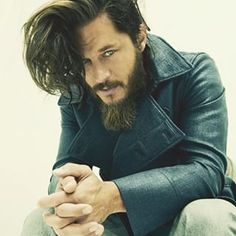 When his hair swooped and you swooned. | 29 Times Travis Fimmel From
