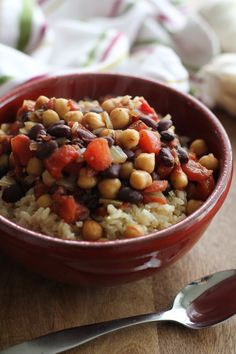 Jamaican Chickpea Stew #vegetarian #vegan