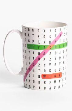 word search mug.