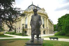 Estátua de Winston Churchill, Paris.